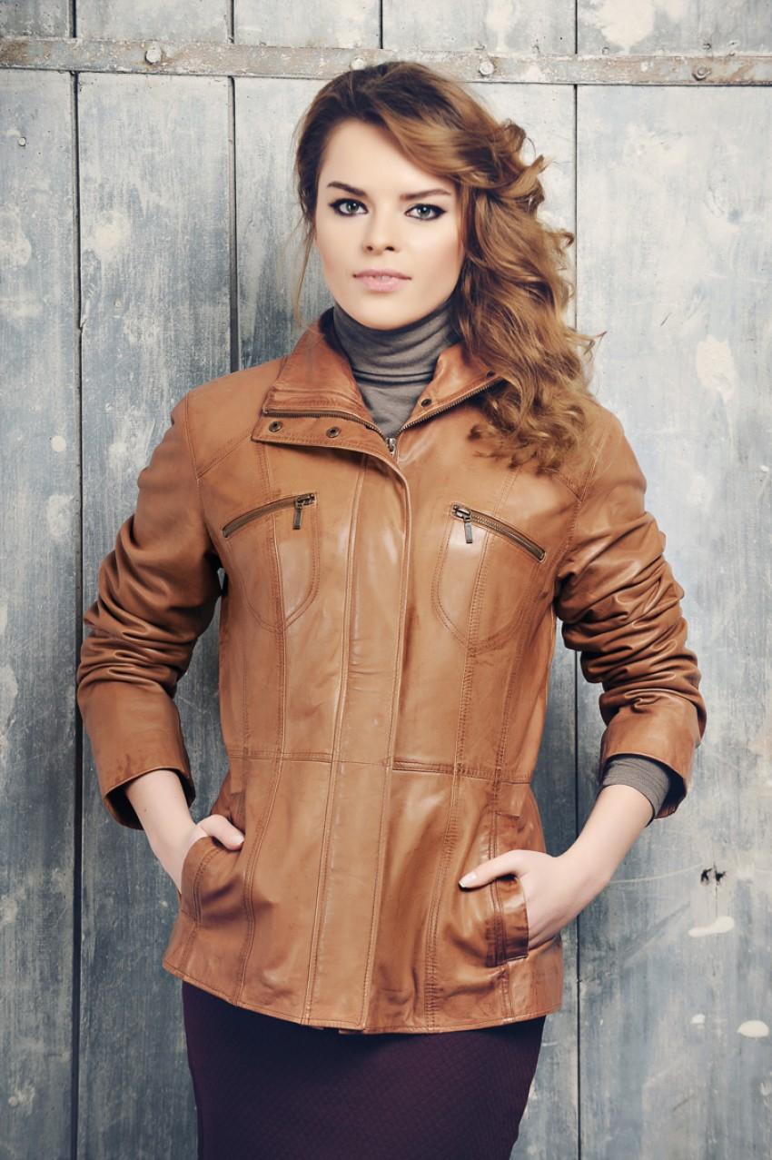 Фото модели кожаной куртки